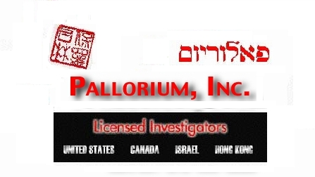 Welcome to the website of Pallorium, Inc. - International Investigations including Asia and China